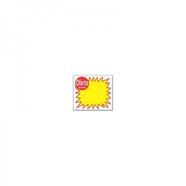 Etiquetas em PVC (Splash Oferta) Ref. 18