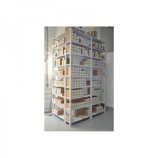 Instalações de Lojas com Mezanino e Estantes de Aço Reforçada