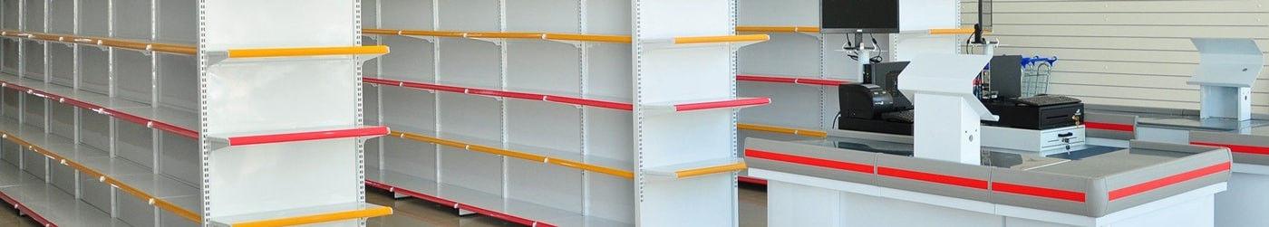 Gôndolas de aço, Vitrines, Expositores, Painéis canaletados, Balcões caixa, Balcões de atendimento, check-out, Instalações comerciais, Montagem de loja em Campinas